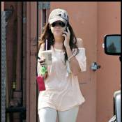 Ashley Tisdale sort en pyjama... après une nuit agitée chez son boyfriend !