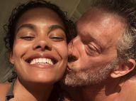 Tina Kunakey et Vincent Cassel : Amoureux complices à Rio