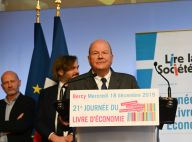 Marc Ladreit de Lacharrière avec des ministres pour une grande journée