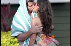 Jennifer Love Hewitt est totalement accro... aux baisers fougueux de son amoureux !