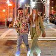 Gigi Hadid et Zayn Malik sont allés dîner au restaurant IL Buco avec B. Hadid et D. Lipa pour l'anniversaire de Zayn à New York, le 11 janvier 2020.