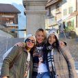 Cindy, de Koh-Lanta, a partagé les coulisses de son enterrement de vie de jeune fille, en Suisse, sur Instagram. Janvier 2020.
