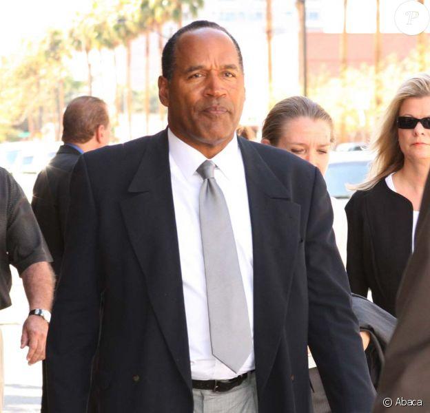 O.J. Simpson, lors de son procès en octobre 2008