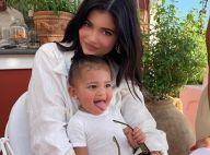 Kylie Jenner : Stormi (1 an) en égérie d'une gamme de maquillage