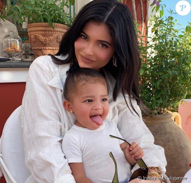 Kylie Jenner et sa fille Stormi- Instagram- août 2019.