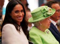 """Meghan Markle """"est de la famille"""": Elizabeth II très """"fière"""" de la femme d'Harry"""