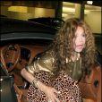 Latoya Jackson allant dîner au restaurant Mister Chow à Beverly Hills le 3 août 2009