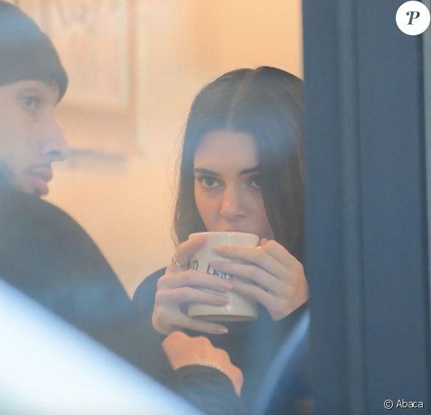 Kendall Jenner et son compagnon Ben Simmons, le dimanche 19 janvier 2020 à New York. Ils ont été bruncher dans le quartier de Tribeca.