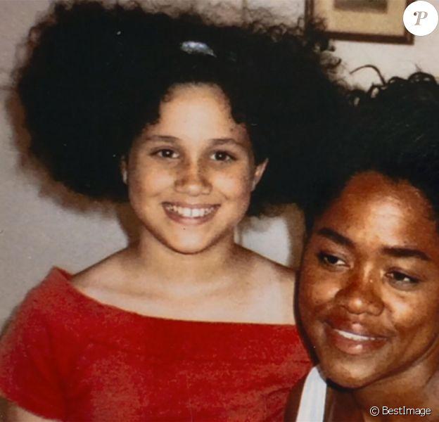 Meghan Markle enfant et adolescente : son père Thomas Markle dévoile l'album de famille pour un documentaire diffusé sur Channel 5, le 22 janvier 2020.