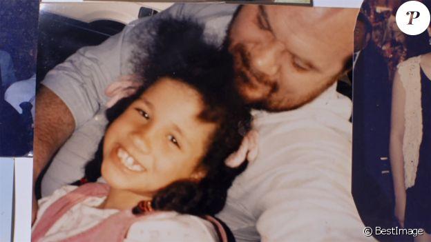 Thomas Markle, le père de Meghan, dévoile l'album de famille pour un documentaire diffusé sur Channel 5, le 22 janvier 2020.
