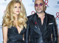 Pascal Obispo : Avec sa femme Julie, babydoll décolletée, pour une grande soirée