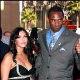 Kobe Bryant et sa femme Vanessa lors des ESPY awards au theatre Kodak d'Hollywood, Los Angeles le 12 juillet 2006.