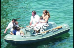 Jennifer Lopez et Marc Anthony emmènent leurs adorables jumeaux... voguer sur la Méditerranée ! (réactualisé)