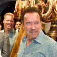 Arnold Schwarzenegger lors de la 29ème Weisswurstparty à l'hôtel Stanglwirt à Going, Autriche, le 27 janvier 2020.