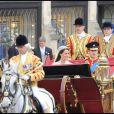Mariage du prince William et Kate Middleton à l'abbaye de Westminster, à Londres, le 29 avril 2011.