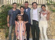 Victoria Beckham dévoile son visage enfant, l'un de ses fils est son sosie !