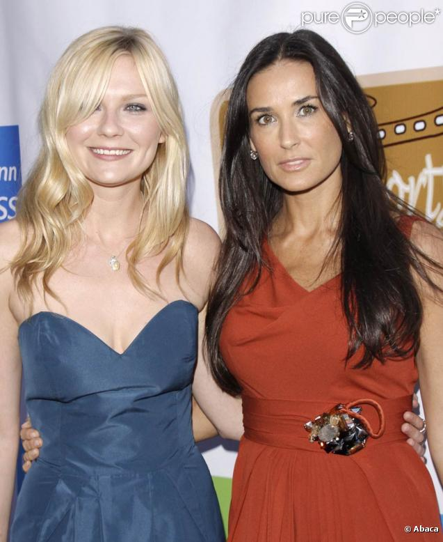 Kirsten Dunst et Demi Moore, à l'occasion du HollyShorts ...