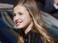 Princesse Leonor, 14 ans : Un subtil changement dans son visage...
