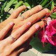 """Les alliances de Joachim et Elodie de """"Mariés au premier regard 2020"""", le 5 février, sur Instagram"""