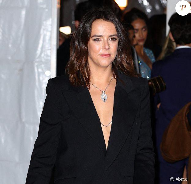 Pauline Ducruet arrive au Cipriani Wall Street pour assister au gala amfAR New York. New Yokr, le 5 février 2020.