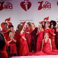 "Final du défilé ""Go Red For Women"" de l'American Heart Association au Hammerstein Ballroom. New York, le 5 février 2020."