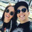 Alizée et Grégoire Lyonnet sur Instagram. Le 16 mai 2017.