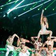 Jennifer Lopez lors du show de la mi-temps du 54ème Super Bowl au Hard Rock Stadium à Miami, Floride, Etats-Unis, le 2 février 2020.