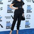 """Renée Zellweger - Photocall de la soirée de la 35e édition des """"Film Independant Spirit Awards"""" à Los Angeles. Le 8 février 2020."""