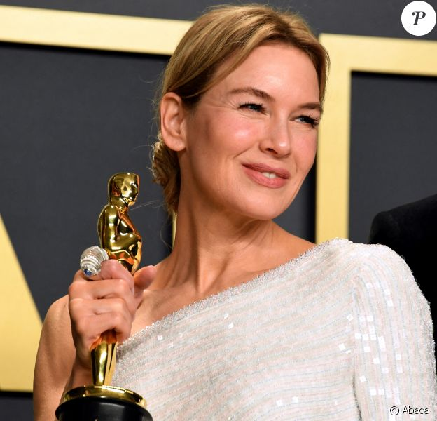 """Renée Zellweger - """"Meilleure actrice"""", 92e cérémonie des Oscars au Dolby Theater d'Hollywood. Le 9 février 2020. @Jennifer Graylock/PA Wire"""