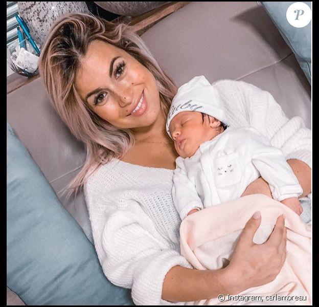 Carla Moreau pose avec sa fille Ruby sur Instagram - 25 novembre 2019