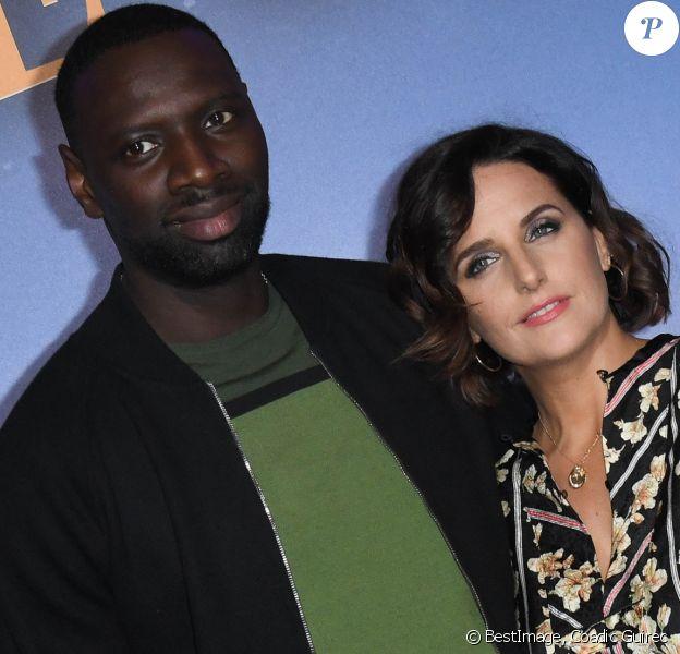 """Omar Sy et sa femme Hélène Sy - Avant-première du film """"Le Prince Oublié"""" au cinéma le Grand Rex à Paris le 2 février 2020. © Coadic Guirec/Bestimage"""