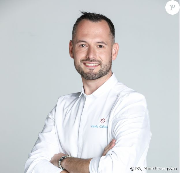 "David Gallienne, 30 ans, candidat de ""Top Chef 2020"", photo officielle"