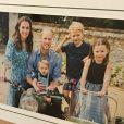 La carte de voeux 2019 du prince William et Kate Middleton avec leurs trois enfants, George, Charlotte et Louis.