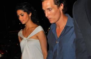 Mathew McConaughey et Camila Alves, une escapade romantique à Paris... Du mariage dans l'air ?