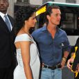 Matthew McConaughey et sa compagne Camila Alves