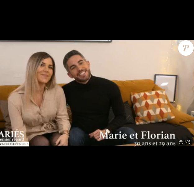 Florian (Mariés au premier regard) se confie sur sa rencontre avec sa chérie Marie - 24 février 2020, M6