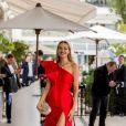 """Petra Nemcova arrive à l'hôtel """"Martinez"""" lors du 72ème Festival International du Film de Cannes, France, le 21 mai 2019."""