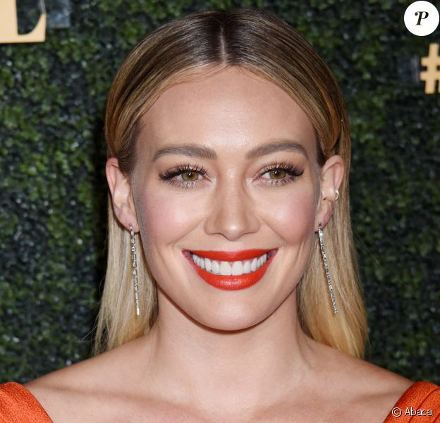 Hilary Duff at the Baby Ball 2019 held at the Goya Studios on October 12, 2019 in Hollywood, CA. © Janet Gough / AFF-USA.com