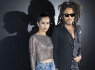 Zoë Kravitz : Sortie nocturne avec son papa Lenny Kravitz à la Fashion Week