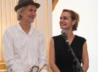 Sandrine Bonnaire complice avec son chéri Erik Truffaz à la trompette