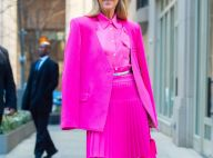 Céline Dion à croquer en rose bonbon ou emmitouflée, la star fait le show