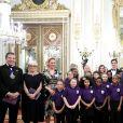 Kate, duchesse de Cambridge, assiste à la réception des 25 ans de l'association pour enfants Place2Be à Buckingham Palace. Londres, le 9 mars 2020.