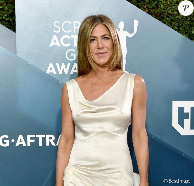 """Jennifer Aniston - 26ème cérémonie annuelle des """"Screen Actors Guild Awards"""" (""""SAG Awards"""") au """"Shrine Auditorium"""" à Los Angeles, le 19 janvier 2020."""