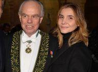 Frédéric Mitterrand entouré de Marc Ladreit de Lacharrière et Clotilde Courau