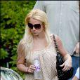 Britney Spears à Los Angeles après avoir visité un studio d'enregistrement le 14 août 2009