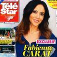Fabienne Carat en couverture du nouveau magazine de Télé Star