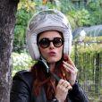 """Audrey Fleurot lors de l'enregistrement de l'émission """"Vivement Dimanche"""" au studio Gabriel à Paris le 9 septembre 2019."""