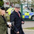 Peter Phillips et Autumn Phillips arrivent ensemble au festival de Cheltenham le 10 mars 2020