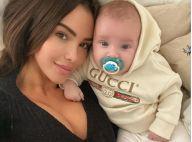 Nabilla rapatriée à Dubaï, son fils Milann obligé de porter un masque