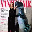 """Carole Bouquet en couverture du dernier numéro de """"Vanity Fair"""", daté de mars 2020."""